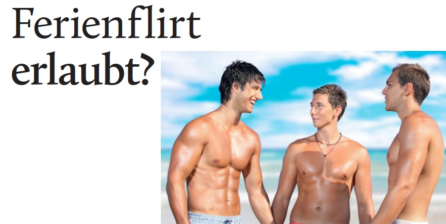 Display: Ferienflirt erlaubt?