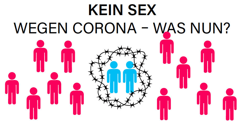 Display: Kein Sex wegen Corona - was nun?